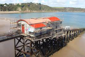 Wooden restoration using Soda Blasting - Tenby Lifeboat House