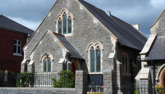 Stone Cleaning - Burleigh Church, Newport
