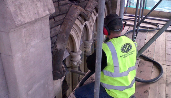 Stone Cleaning and Restoration - Burleigh Church