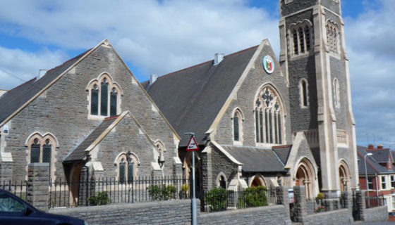 Exterior Building Cleaning - Burleigh Church