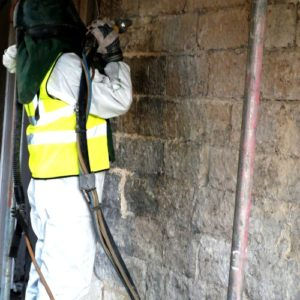 York Stone, Soda Blast Cleaning - Dry Ice Blasting