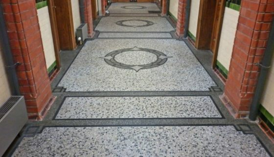 Marble Cleaning - The General Offices, The Works, Ebbw Vale, Blaenau Gwent