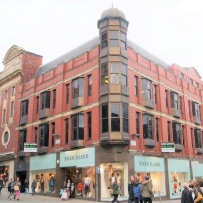 Brick and Stone Cleaning by Soda Blasting at River Island in Leeds, Yorkshire